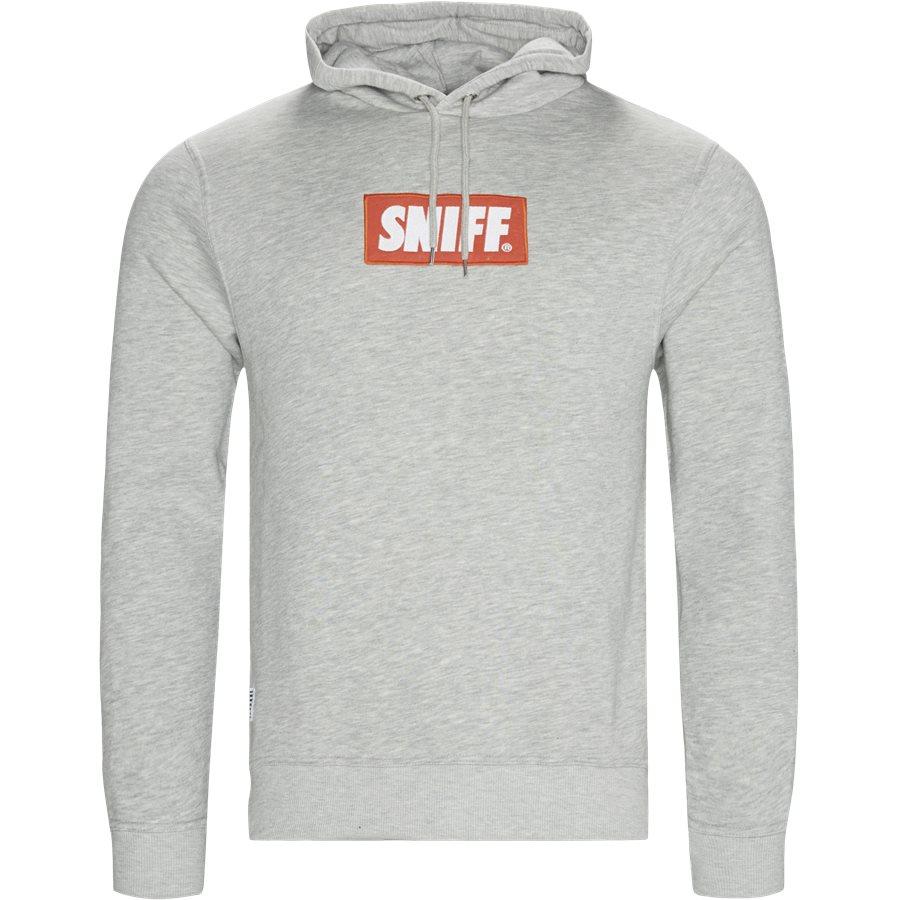 FORCE - Force Hoodie - Sweatshirts - Regular - GREY MELANGE - 1